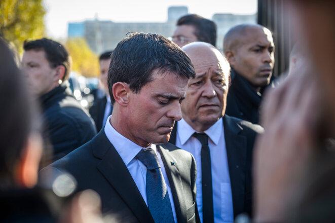 Manuel Valls, le 15 novembre  © Reuters