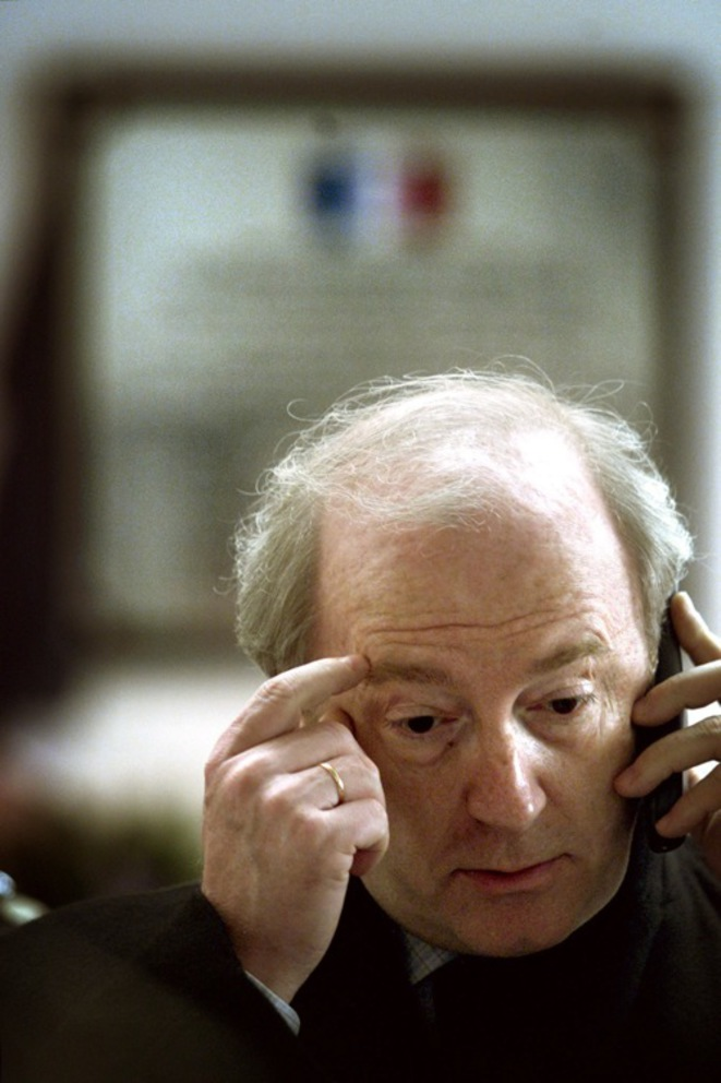 Hubert Védrine, ancien secrétaire général de l'Élysée sous François Mitterrand. © Reuters