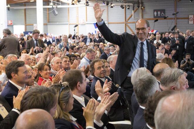 """Eric Woerth lors du congrès fondateur des """"Républicains"""""""