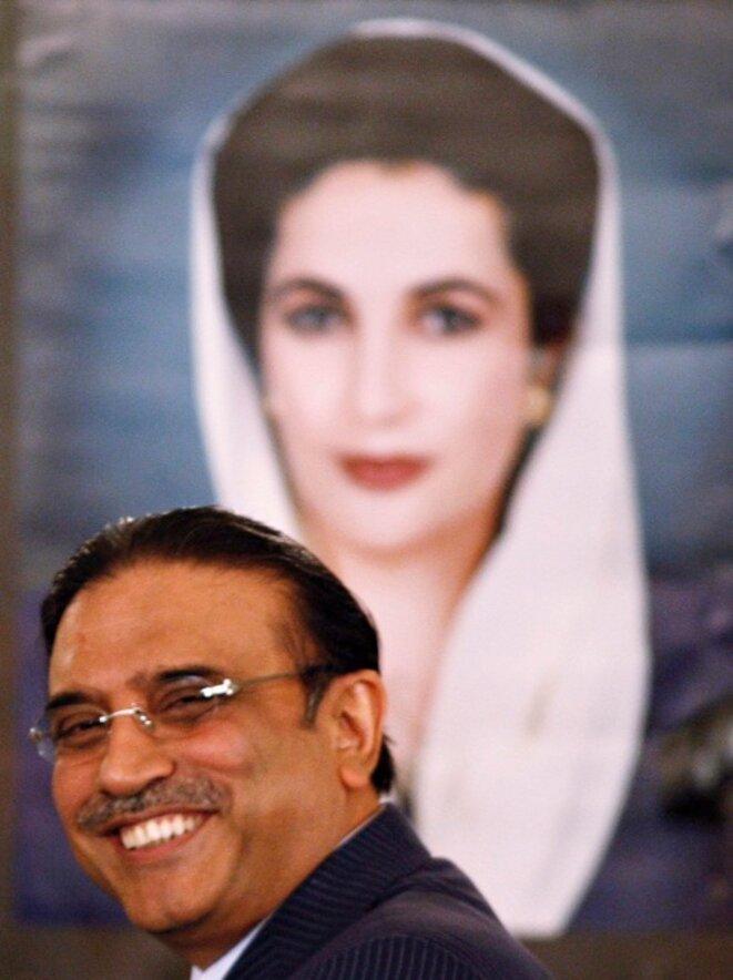 Asif Ali Zardari © Reuters