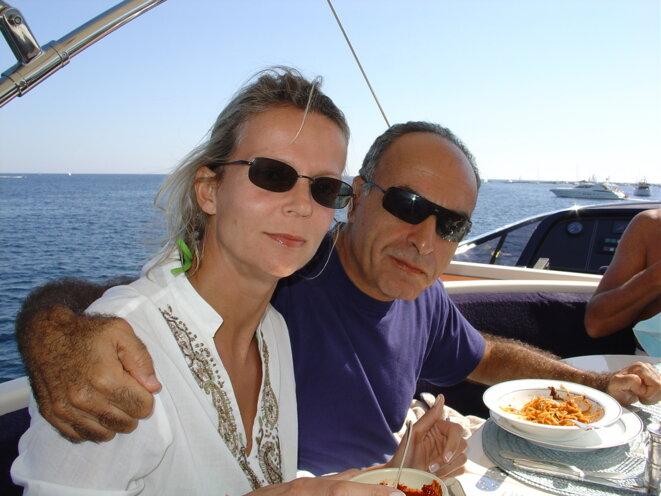 Ziad Takieddine et Hélène Gaubert