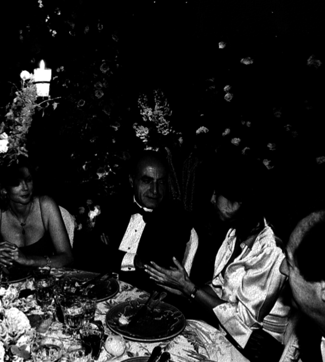 Ziad Takieddine, à table.