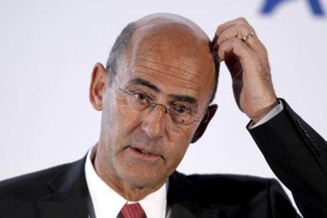 Patrick Kron, pd-g d'Alstom depuis 2003. © Reuters