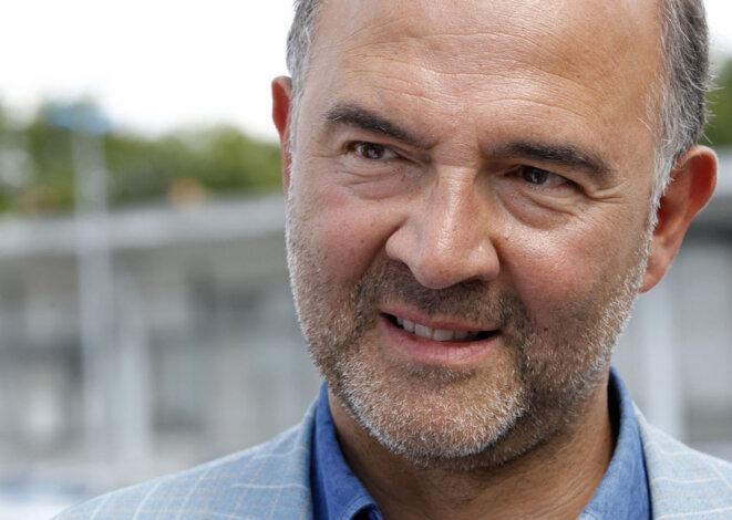 Le commissaire européen et ex-ministre de l'économie français, Pierre Moscovici. © Reuters