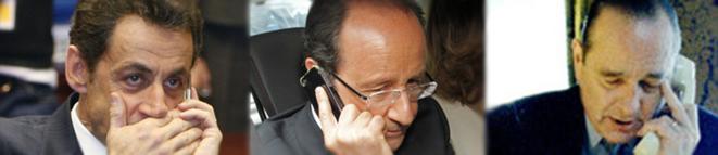 Les trois présidents français écoutés par la NSA