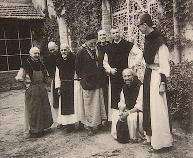Les moines de Tibéhirine © DR