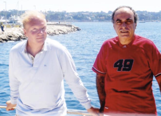 Brice Hortefeux et Ziad Takieddine. © Photo Mediapart