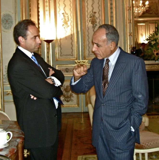 MM. Copé et Takieddine au Liban © Mediapart