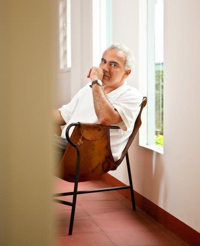L'écrivain brésilien Milton Hatoum © Adriana Vichi