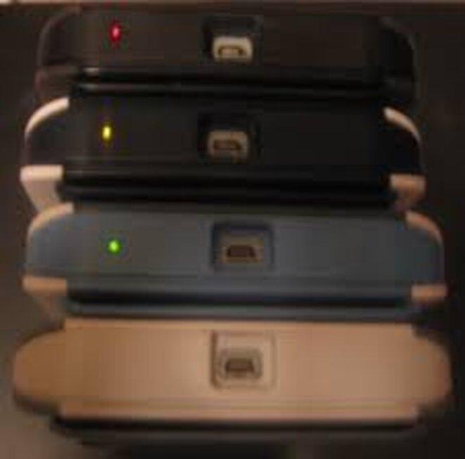 diode prouvant le mode examen