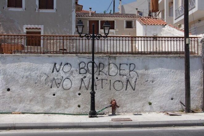 Pas de frontière, pas de nation.