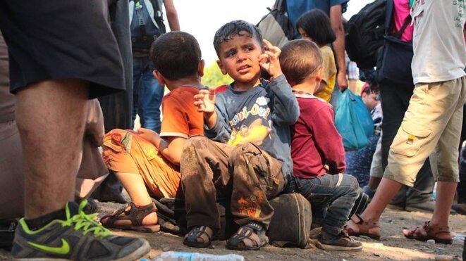 Les enfants sont traités de la même manière que n'importe qui d'autre