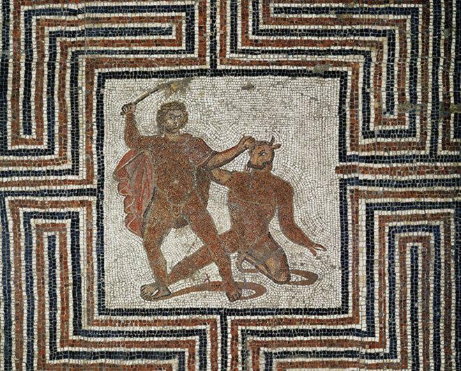 Thésée et le Minotaure, le retour