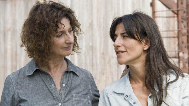 Pierrette Robitaille et Rohmane Bohringer, dans Vic + Flo ont vus un ours, de Denis Côté