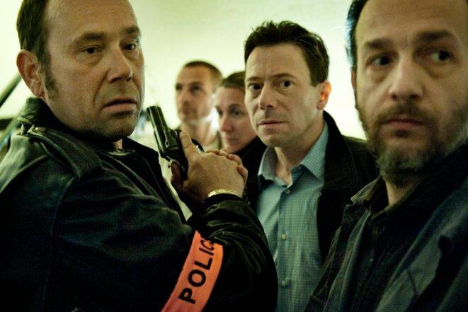 Olivier Gourmet, Mathieu Amalric et Rodolphe Congé