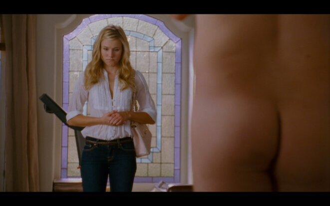 Kristen Bell et les fesses de Jason Segel dans «Forgetting Sarah Marshall / Sans Sarah rien ne va ! », Nicholas Stoller, 2008.