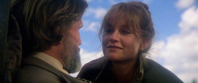 Isabelle Huppert et Kris Kristofferson dans La Porte du Paradis de Michael Cimino