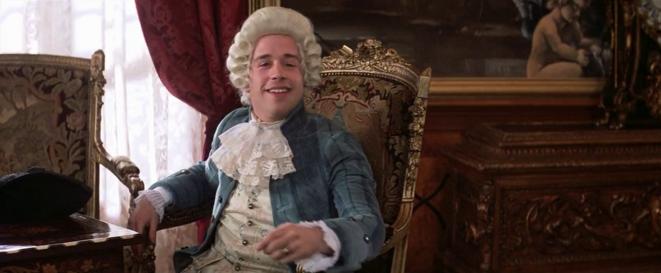 "Contrechamp : Tom Hulce est Wolfgang Amadeus Mozart dans "" Amadeus "" (Milos Forman, 1984)"