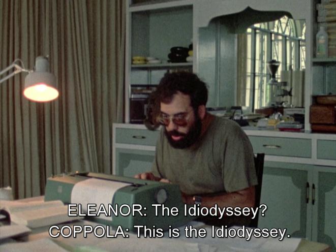 Coppola, filmé par sa femme Eleanor, sur le tournage d'«Apocalypse Now »