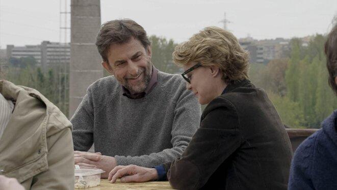 Nanni Moretti et Margherita Buy, dans «Mia Madre »