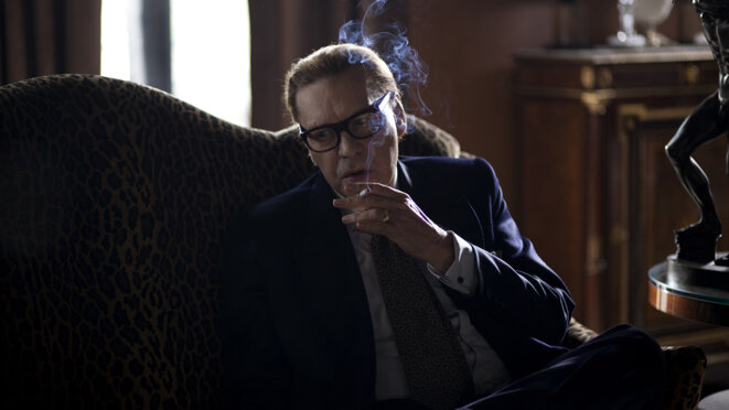 Helmut Berger dans « Saint Laurent »