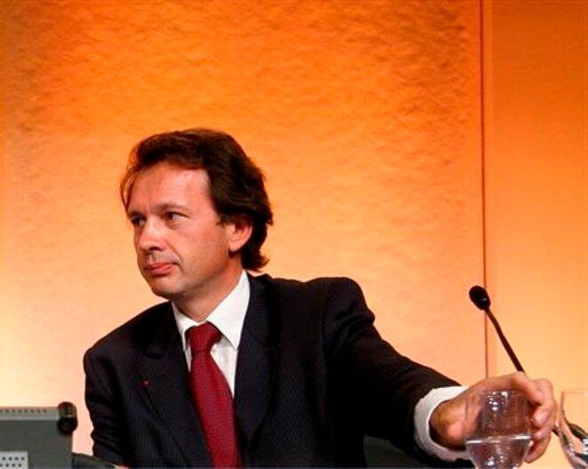 Jean-Bernard Lafonta, ancien président du directoire du groupe Wendel
