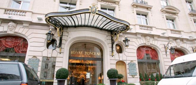 Le palace Royal Monceau à Paris © DR