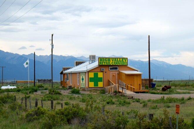 Un dispensaire du Colorado.