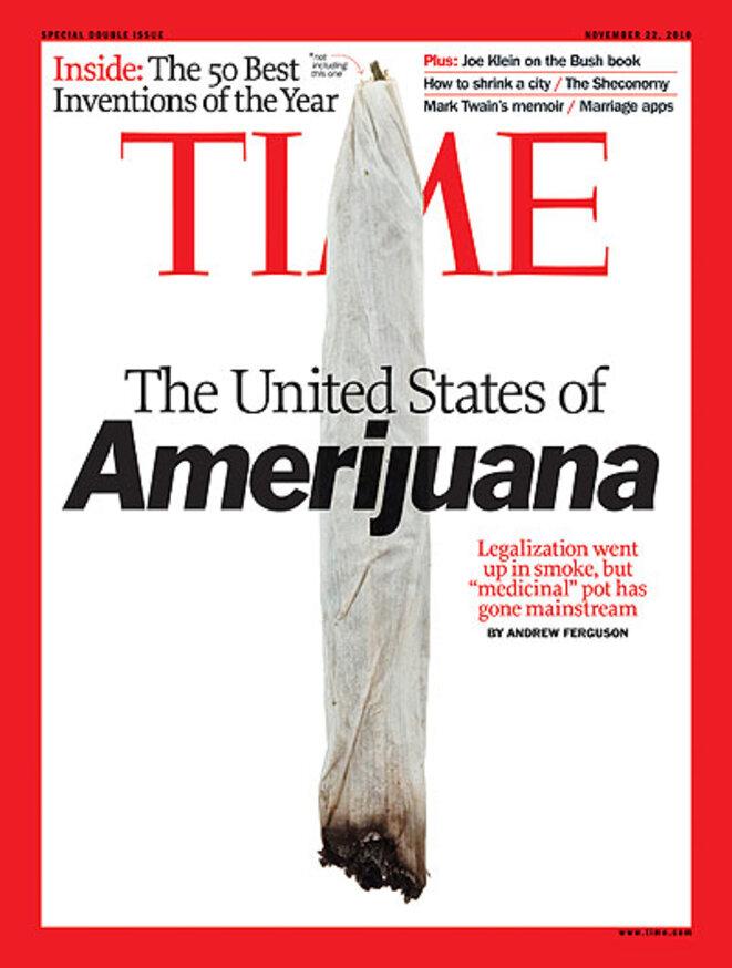 Une du Time, en novembre 2010