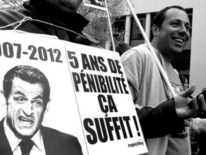 Lyon 11 juin 2010 contre la réforme des retraites © Olivier Perriraz