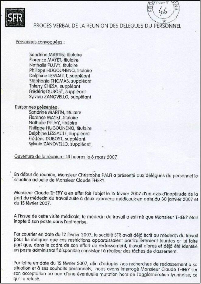 Sfr Le Scandaleux Comportement Des Representants Du Personnel Le Club De Mediapart