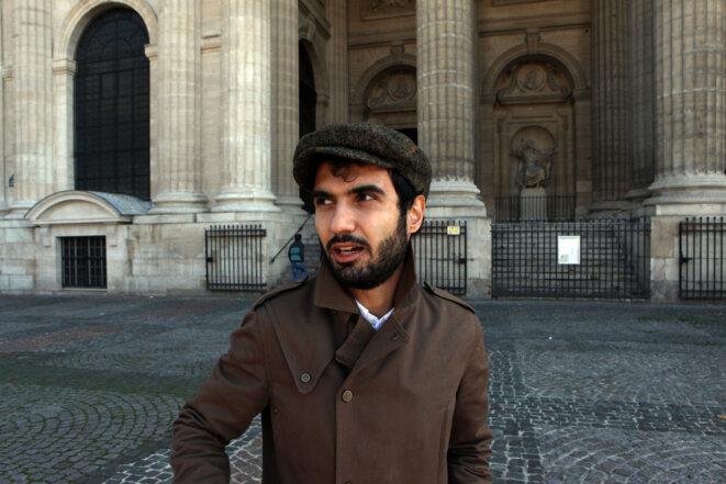 Tigran Hamasyan devant l'église St Sulpice © Patrick Artinian