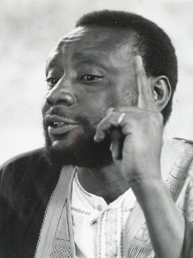 Portrait du conteur Mamadou Diallo © Collection Ghoefa