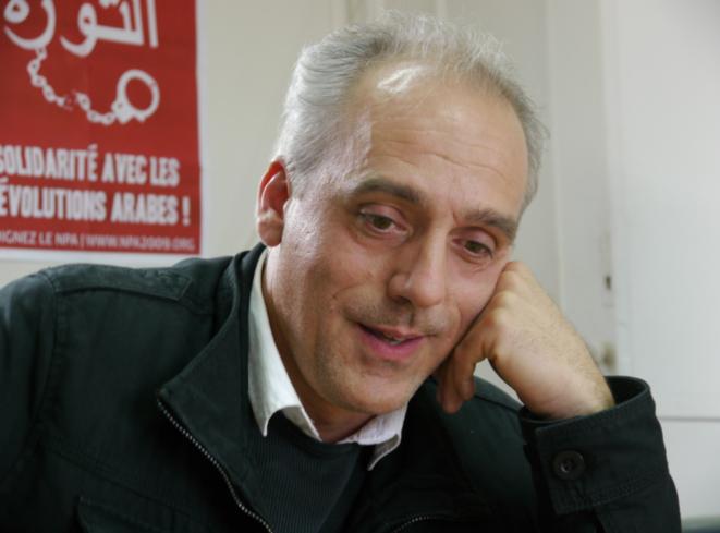 Philippe Poutou en décembre 2011. © L.B.