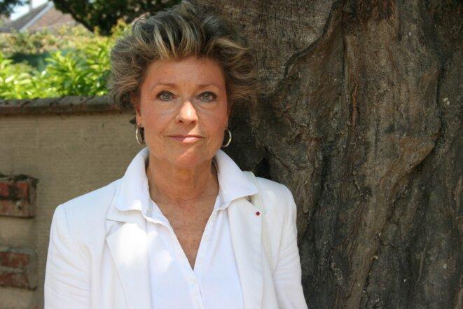 Anne Mansouret, mai 2011. © Jade Lindgaard