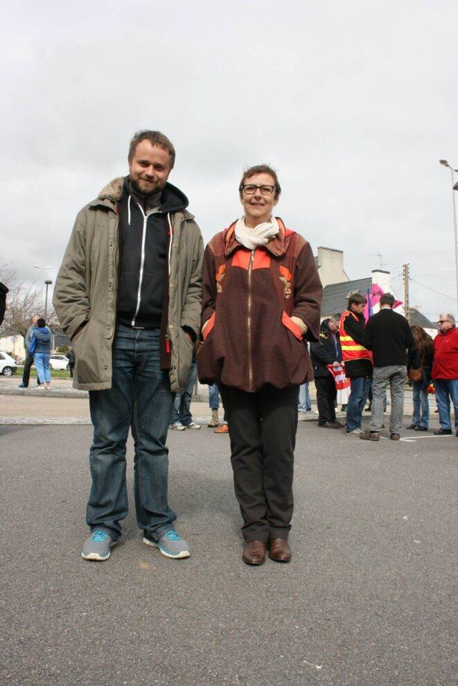 Patryk Szczepankiewicz et Janine Carrasco © L.B.