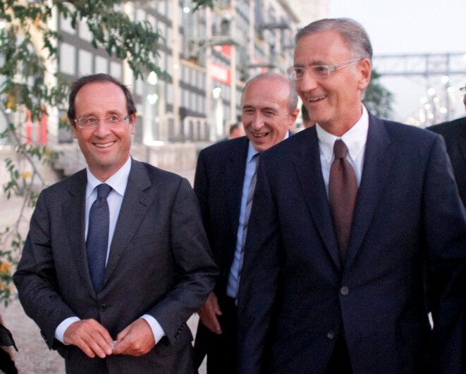 François Hollande et André Vallini © Reuters