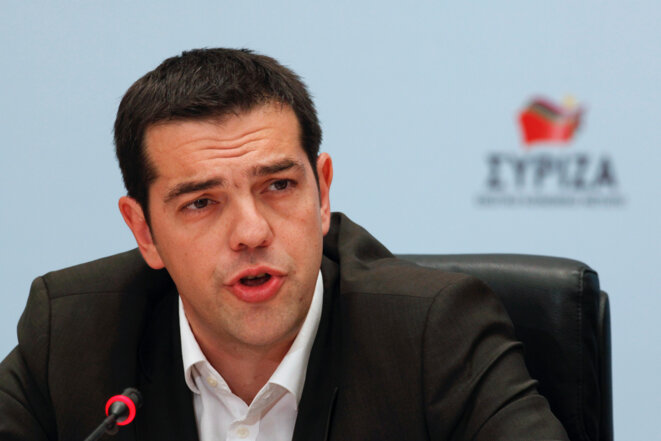 Alexis Tsipras, leader de Syriza.