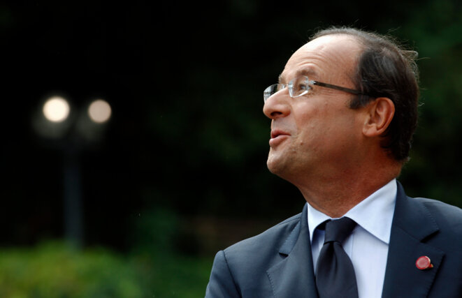 François Hollande début septembre.