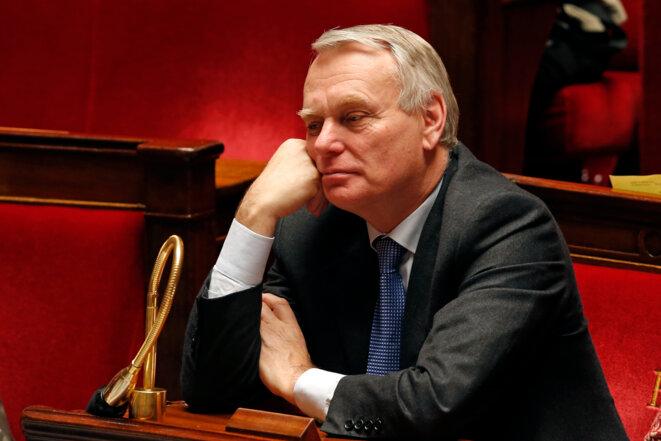 Jean-Marc Ayrault à l'Assemblée nationale le 12 février