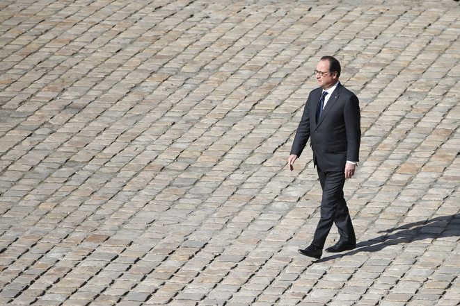 François Hollande le 7 avril à Paris.  © Reuters