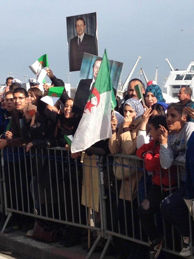 Mercredi, à Alger.