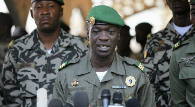 Le capitaine Sanogo © Reuters
