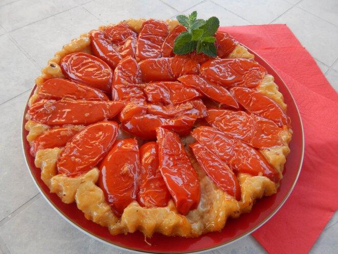 tatin de tomates © elisa