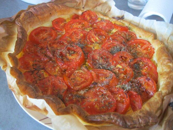 tarte à la tomate  © elisa