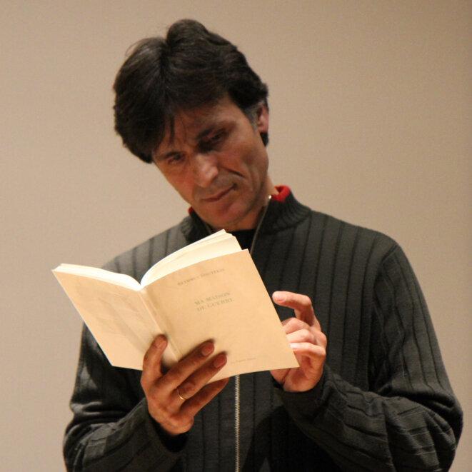Lecture à la Maison Internationale de Rennes  (20 novembre 2014) © Françoise Bauduin
