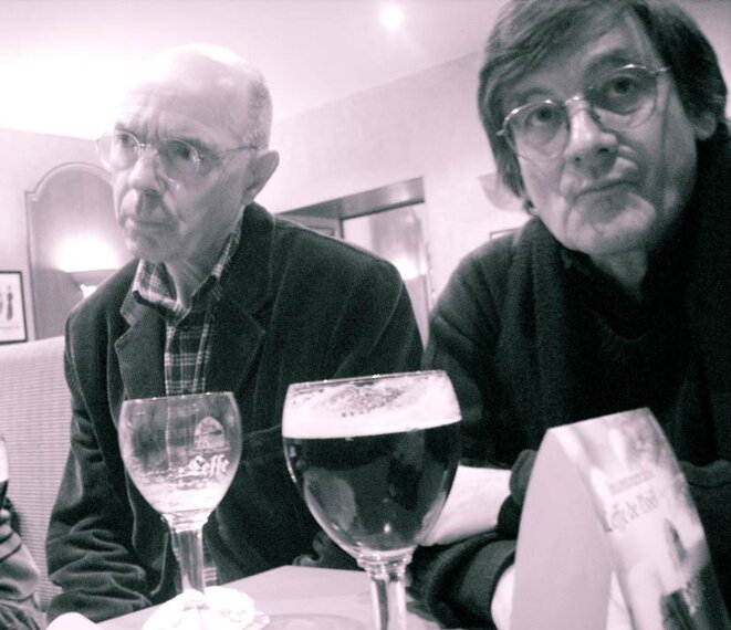 © jcl : Bernard Le Doze et Michel Dugué au St Just