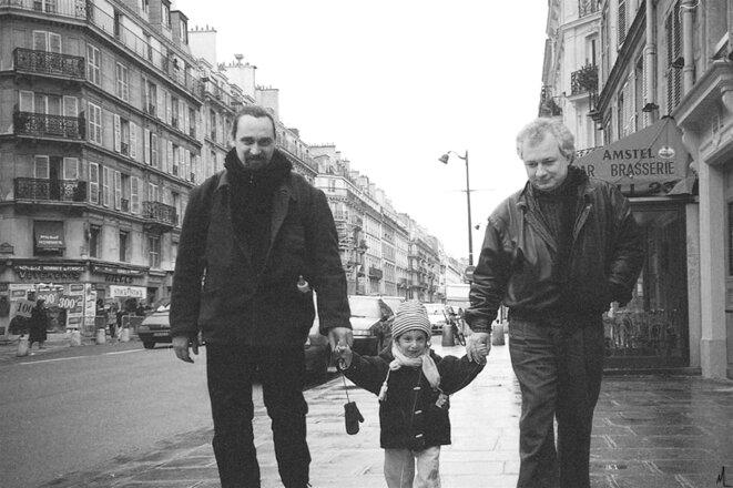 Patrice Thierry et Jean-David Moreau (1996) © jean-david moreau