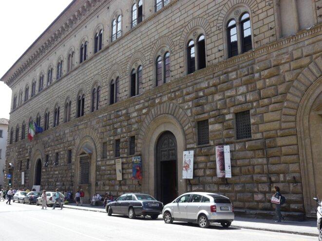 Le siège de la province de Florence, ancienne résidence des Médicis : le premier poste de Matteo Renzi © Amélie Poinssot