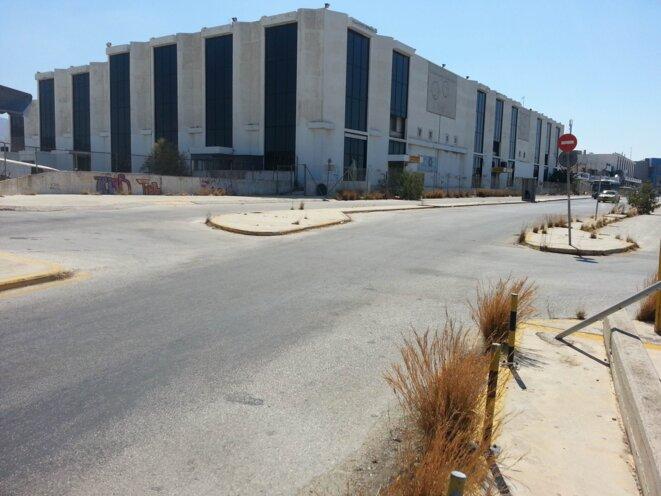 L'ancien aéroport d'Athènes, sur le site d'Elleniko